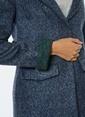 Dewberry Kısa Palto Lacivert